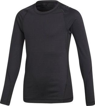 Adidas Alphaskin Sport Tee K Black 116 od 454 Kč • Zboží.cz 74cb5a7770