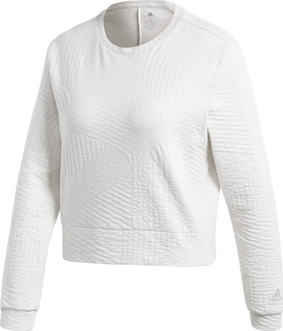 Adidas Ec Performance Sweatshirt bílá L od 899 Kč • Zboží.cz 15fe123501