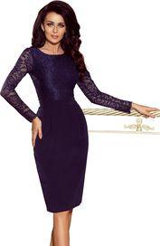 107dae7bb865 dámské šaty Numoco 216-1 tmavě modré
