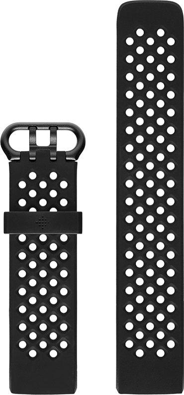 202f7846b Fitbit Charge 3 Sport Band Black L od 699 Kč | Zboží.cz