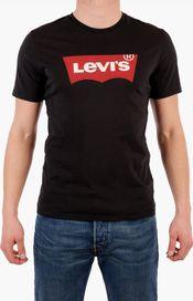 e9b5d9b72630 pánské tričko Levis Graphic Set-in Neck Tee černé
