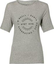 7e55c8c0c5 dámské tričko O Neill Lw Essentials Logo T-Shirt šedé L