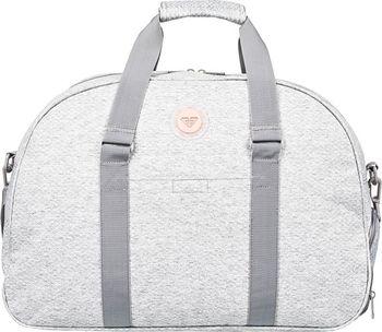 9e13f85c81 Dámská šedá sportovní taška Roxy Feel Happy Heather Heritage Heather je  ideální do fitka nebo na víkend. Díky větším rozměrům se ti do ní vejdou  všechny tvé ...