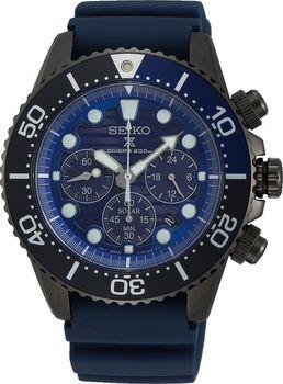 ca4e66aa1 Pánské hodinky Seiko SSC701P1 jsou novinkou roku 2018 ze speciální edice  Save the Ocean. Model, jenž je poháněn solární energií je vyveden v  atraktivním ...