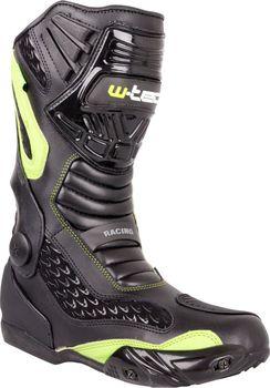 Kožené moto boty W-TEC NF-6003 jsou elegantní obuví na motocykly. Na první  pohled zaujmou kvalitním a stylovým koženým zpracováním. 5bd132cf3c