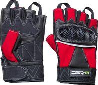 Kožené bezprsté moto rukavice W-Tec NF-4190 černo-červené 53018b8d5c