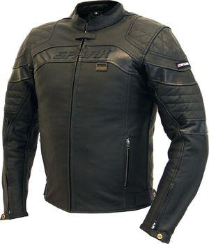Spark Dark černá. Pánská kožená moto bunda ... c0933764692