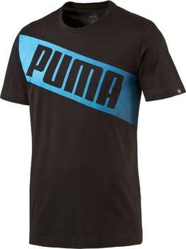 88593f553638 Puma Fun Big Logo Graphic Tee černá - Srovnejte ceny!