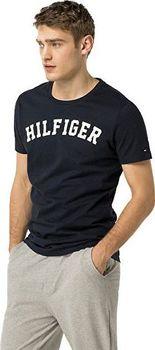 7c4d70ee997 Tommy Hilfiger Cotton Icon SS Tee Logo Navy Blazer. Luxusní pánské domácí  triko ...