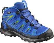 dětská treková obuv Salomon X-Ultra MID GTX(R) J Blue yonder  8ec5196a1d