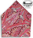 bavlněný šátek kašmírový červený 1035aa8aeb