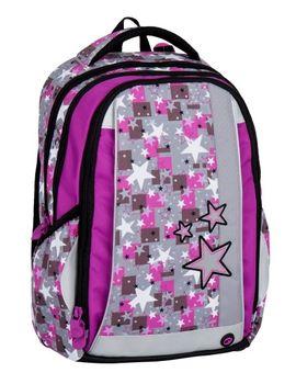 Bagmaster Mercury 7 A. Prostorný tříkomorový školní batoh ... 9b00d1b3af