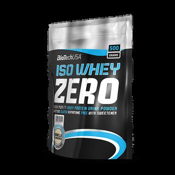 iso whey zero protein drink powder 500g