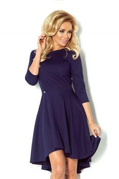 b80fd3f790b7 Numoco 90-1 tmavě modré. Luxusní dámské společenské šaty ...