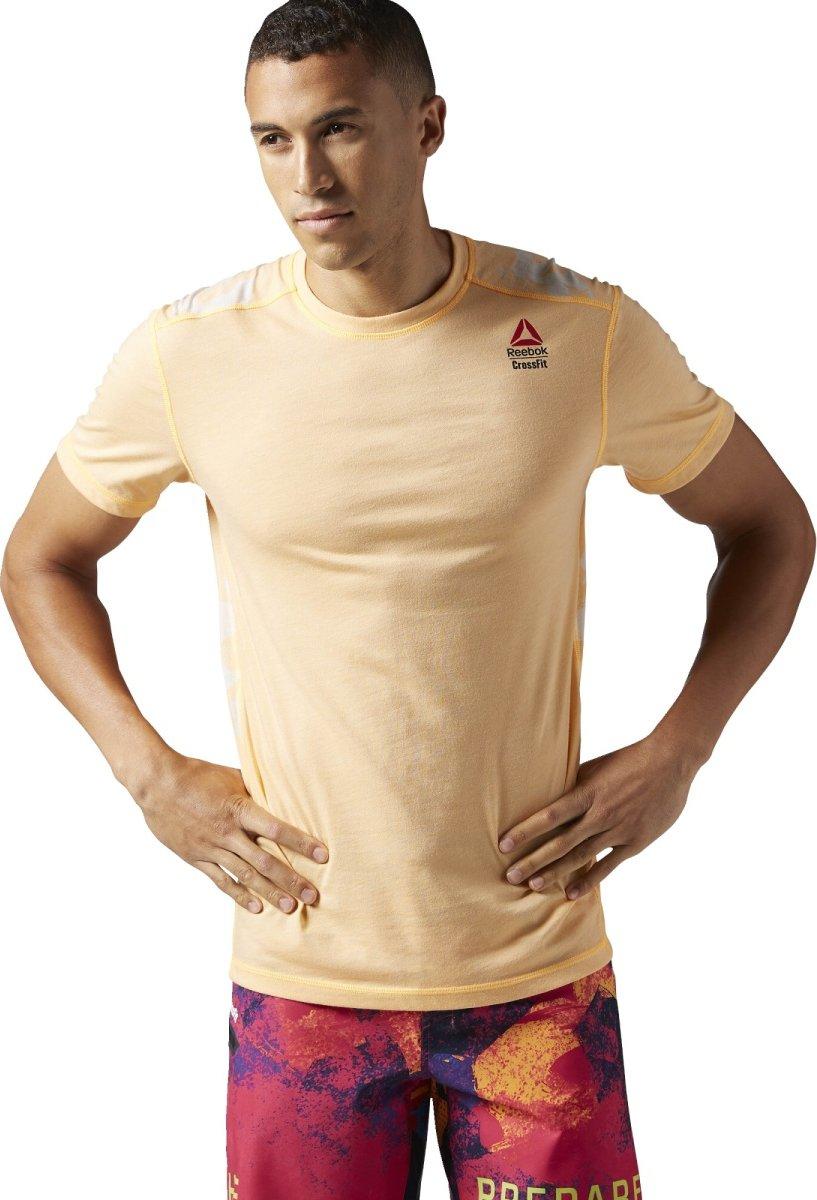 Reebok CrossFit Burnout Tee oranžové • Zboží.cz 392bad5bbe