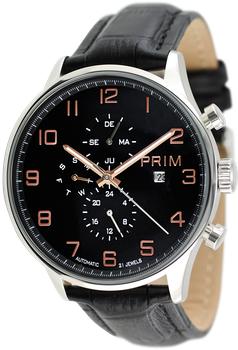 Prim Manager E. Pánské mechanické multifunkční hodinky ... 2606a3a43b
