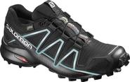 Salomon Speedcross 4 GTX W black/metallic-bubble-blue