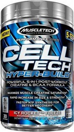 Výsledek obrázku pro MuscleTech CELL-TECH HYPER BUILD 485 g
