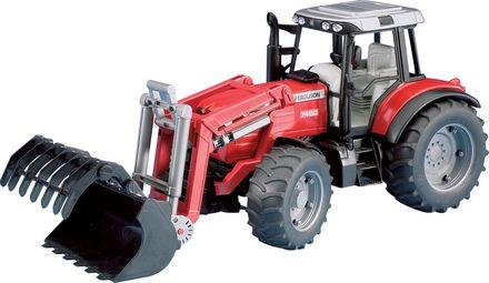 Bruder BR2042 Traktor Massey Ferguson 8240 + čelní nakladač