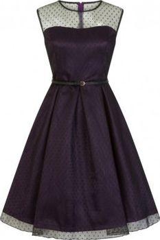 Dámské retro šaty Lindy Bop ALEENA 9538d45839