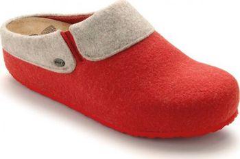 Scholl KAPEL červená domácí zdravotní obuv EU 0006df8f2a