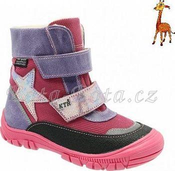 d9bd616bb23 Dětská zimní obuv KTR 316 1 N2FF