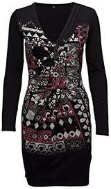 dámské šaty Desigual Azahara Negro vícebarevná ca99b30f10b