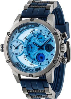 a524e6c54 Pánské náramkové hodinky Police PL14536JSU/04P mají hmotnost 131 g.  Vodotěsnost je do 50 m (5 ATM).