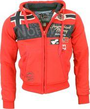 pánská mikina Geographical Norway Garadock červená 4c2118c879a