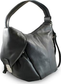 Černý kožený batoh a kabelka Khalesi 593ae4be03