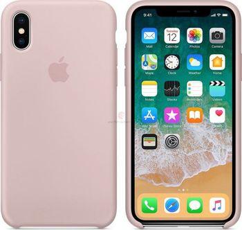 Apple silikonový kryt na iPhone X pískově růžový. Vlastníte mobilní telefon  ... dd0a0d38c17