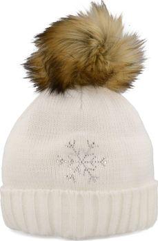 Relax Flake bílá. Dámská zimní čepice ... ba8235e5ff