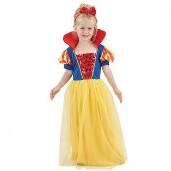 07af571424b3 ... a každé malé děvče ji má jistě rádo pro její dobrotivou povahu a navíc  kdo by nechtěl mít za kamarády sedm malých trpaslíků  -). Balení obsahuje   šaty ...