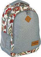 Šedé stříbrné ✒ školní batohy a aktovky HEAD • Zboží.cz 017b60b58d
