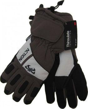Pánské lyžařské rukavice Action 121fecebc9