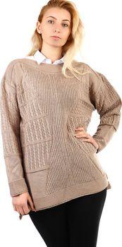 Hnědé dámské svetry bez zapínání • Zboží.cz ad452508cf