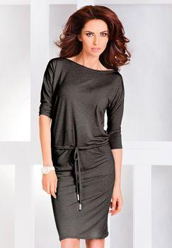 Sportovní šaty z elastické viskózy s kulatým výstřihem a tříčtvrtečními  rukávy. Šaty mají volnější střih. 2b179a121d