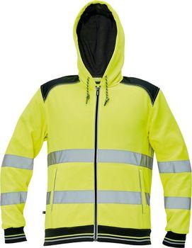 Červa Knoxfield Hi-Vis žlutá reflexní mikina s kapucí od 1 114 Kč ... cfd277c6be