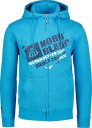 pánská mikina NORDBLANC NBSMS6499 Progress královsky modrá ba47b8376f