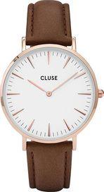 5d0c30631 hodinky Cluse La Bohème Rose Gold White/Brown CL18010