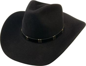 2c68796f788 Tonak Westernový klobouk černá