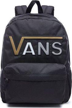 Vans Realm Flying V VA34GHB5T Backpack 22 l Black Metallic • Zboží.cz 90d7f3ffee