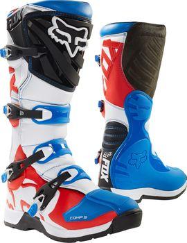 93bb172cc2e Fox Comp 5 Boot blue red od 5 399 Kč • Zboží.cz