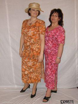 Oranžové dámské šaty • Zboží.cz 72fdf9ef92