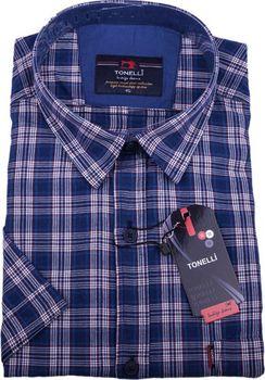 Tonelli 110816. Elegantní pánská košile klasického střihu vyrobená z velice  příjemné 100% bavlny. e904c70067