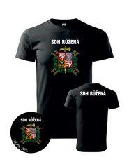 5cb60e849279 pánské tričko PotiskniTriko.cz Tričko pro hasiče 249 černé