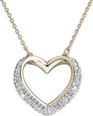 náhrdelník Evolution Group 32027.1 krystal gold ca3c851e89b