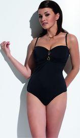 be4a6fb4117 dámské plavky Kris Line Donna jednodílné černé