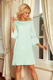 dámské šaty Numoco 190-4 světle zelené 5d121c1023
