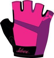 b207e51036 cyklistické rukavice Silvini Enna růžové L